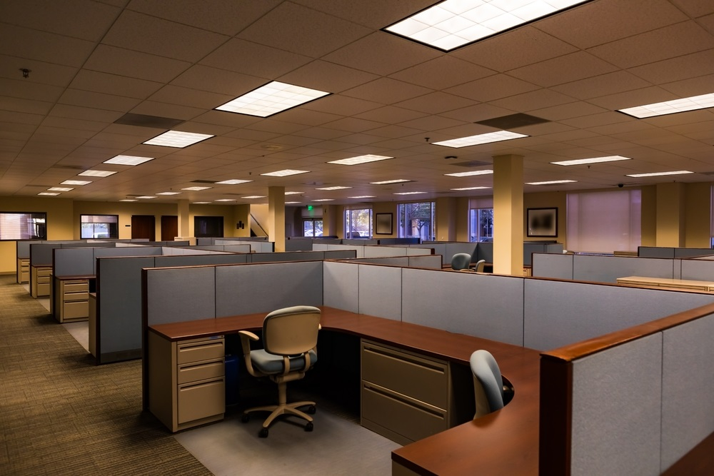 Voorstanders van cubicles op kantoor